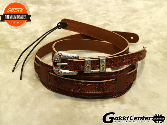 Gretsch Tooled Straps Walnut