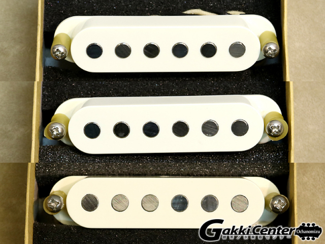 【数量限定SALE!】TV Jones Starwood Strat Pickup Bridge&Middle&Neck Parchment White Set