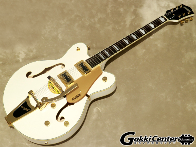 【アウトレット】Gretsch G5422TG Electromatic Hollow Body Double-Cut with Bigsby Snow Crest White【シリアルNo:KS20043095/3.2kg】【店頭在庫品】