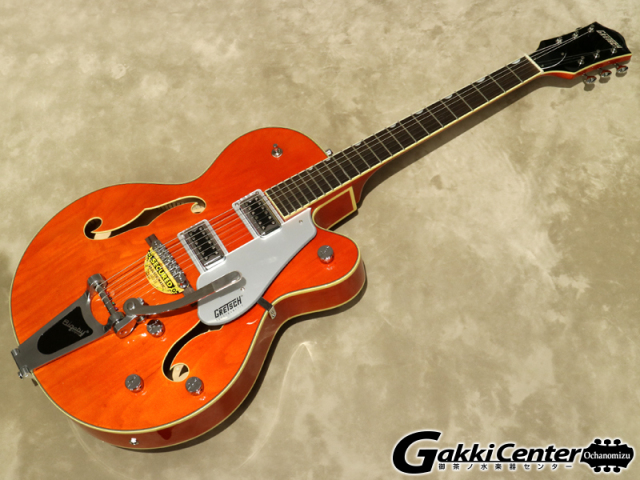 Gretsch G5420T Electromatic Hollow Body Single-Cut with Bigsby Orange Stain【シリアルNo:KS17013200/3.3kg】【店頭在庫品】