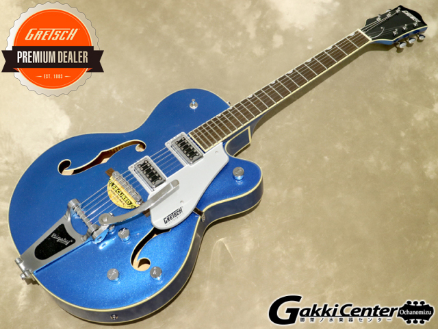 Gretsch G5420T Electromatic Hollow Body Single-Cut with Bigsby Fairlane Blue【シリアルNo:KS18033504/3.5kg】【店頭在庫品】