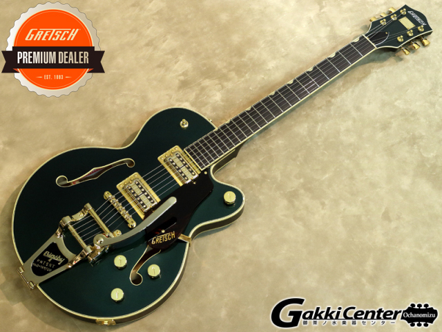 Gretsch G6659TG Players Edition Broadkaster Jr. Center Block Single-Cut Cadillac Green Metallic【シリアルNo:JT17092907/3.4kg】【店頭在庫品】