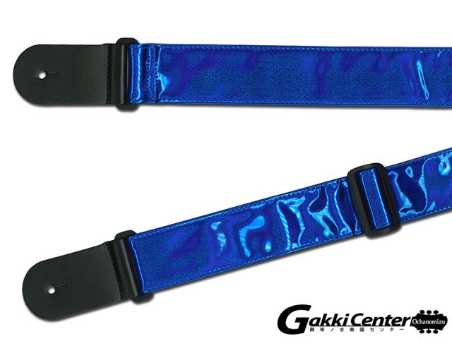 RENEGADE ギター/ベース用 ストラップ Shiny Vinyl Dark Blue【店頭在庫品】