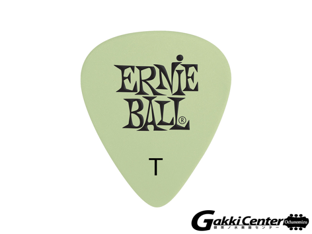 ERNiE BALL(アーニーボール) CELLULOSE ACETATE NITRATE PICK SUPER GLOW THIN [#9224] 12枚セット