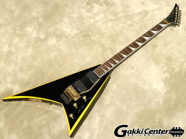 Jackson X Series Rhoads RRX24 Black with Yellow Bevels【シリアルNo:ICJ1852014/3.4kg】【店頭在庫品】
