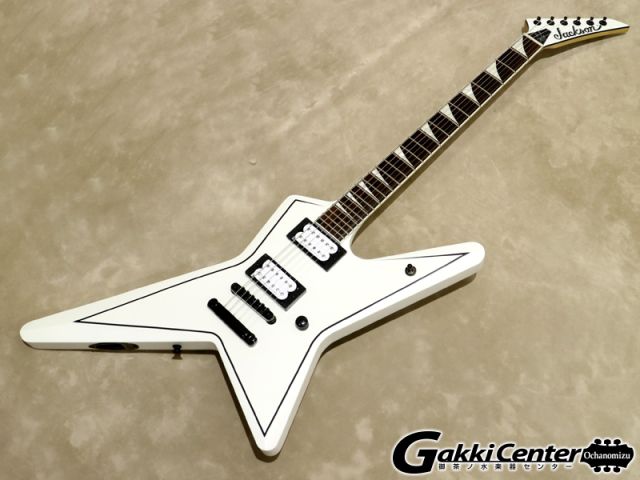 Jackson X Series Gus G. STAR Satin White【シリアルNo:ICJ1700674/3.2kg】【店頭在庫品】