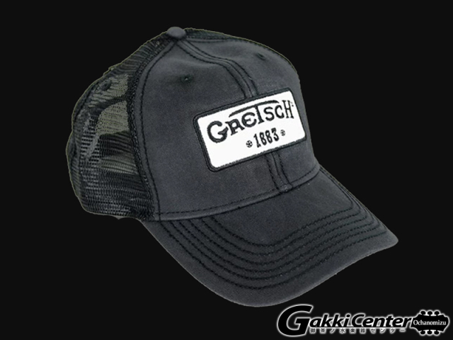 Gretsch 1883 Logo Patch Trucker Hat, Limited Edition
