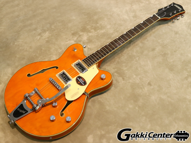Gretsch G5622T Electromatic Center Block Double-Cut with Bigsby Vintage Orange【シリアルNo:KS17073081/3.5kg】【店頭在庫品】