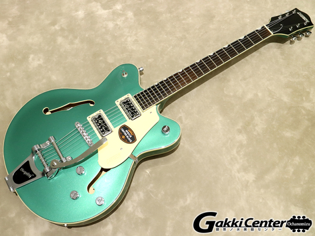 Gretsch G5622T Electromatic Center Block Double-Cut with Bigsby Georgia Green【シリアルNo:KS17073065/3.4kg】【店頭在庫品】