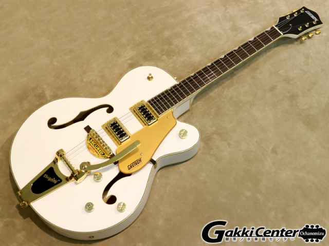 【限定カラー!】G5420TG-FSR Electromatic Hollow Body Single-Cut with Bigsby White【シリアルNo:KS17063843/3.3kg】【店頭在庫品】