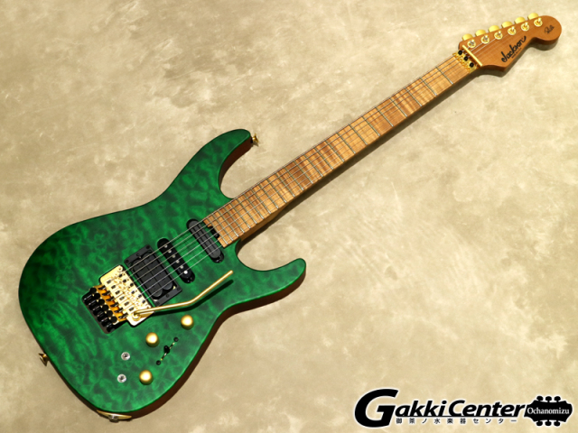 Jackson USA Signature Phil Collen PC1 Satin Transparent Green【シリアルNo:XN9563/3.8kg】【店頭在庫品】