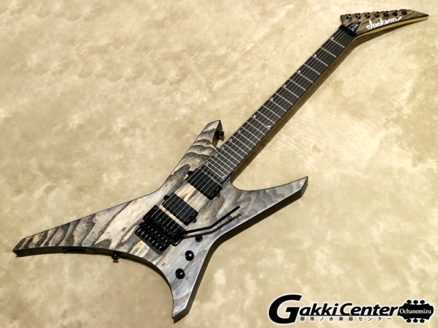 Jackson Pro Series Dave Davidson Warrior WR7 Distressed Ash【シリアルNo:ICJ1800669/4.1kg】【店頭在庫品】