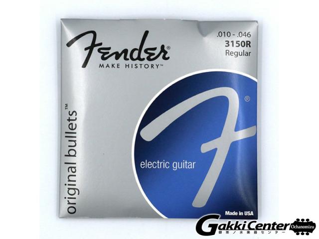 [Outlet] Fender 3150 Original Bullets - Pure Nickel Bullet Ends, 3150R (.010-.046)