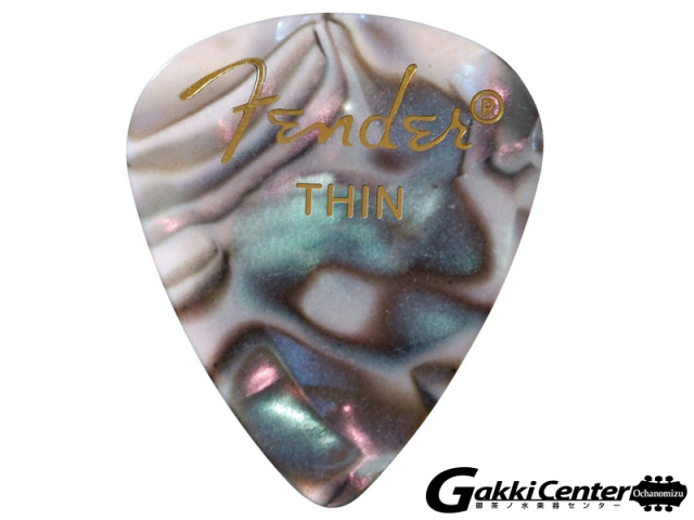 [Outlet] Fender 351 Shape Premium Picks, Thin, Abalone - 12 Count Pack