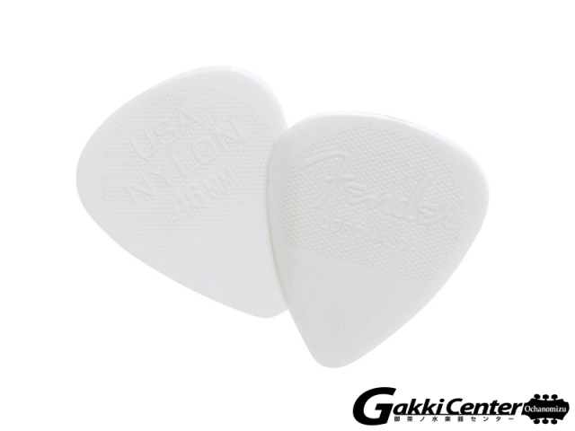 [Outlet] Fender 351 Shape Nylon Picks, 0.46mm - 12 Pack