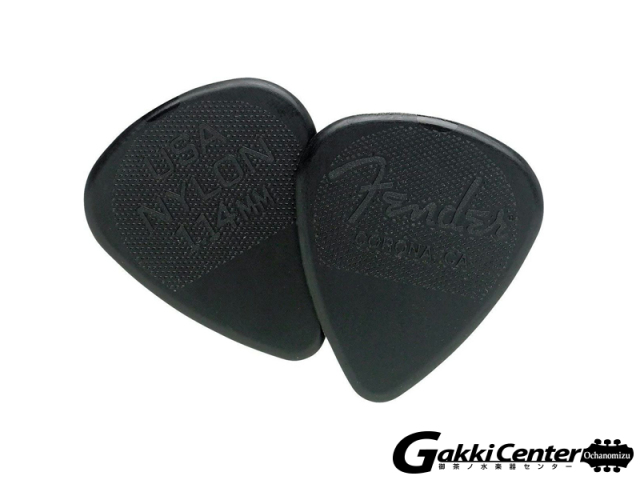 [Outlet] Fender 351 Shape Nylon Picks, 1.14mm - 12 Pack