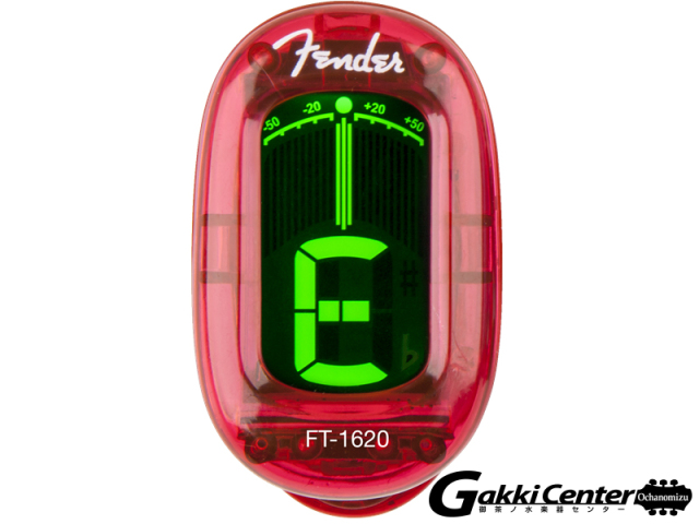 Fender California Series Clip-On Tuners Candy Apple Red