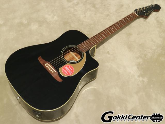 Fender Redondo Player Jetty Black【シリアルNo:CSL17003497/2.1kg】【店頭在庫品】