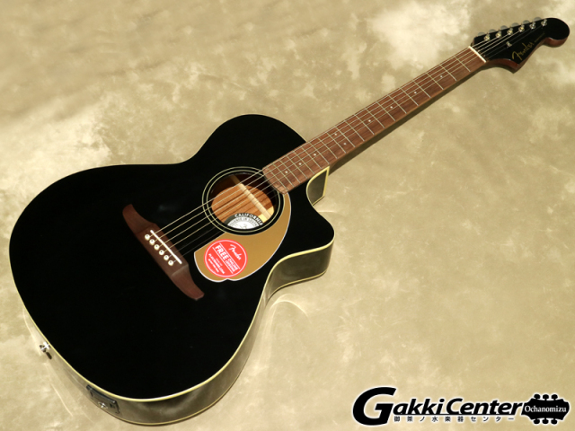 Fender Newporter Player, Jetty Black【シリアルNo:CSL17003735/2.1kg】【店頭在庫品】