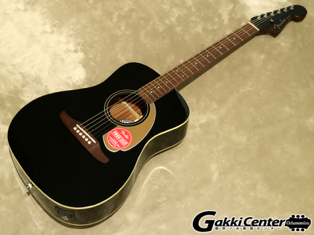 Fender Malibu Player, Jetty Black【シリアルNo:CSL17003914/1.9kg】【店頭在庫品】