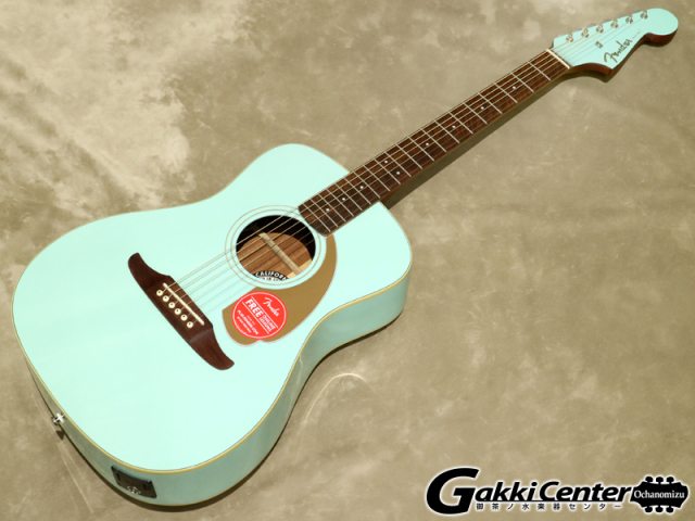 Fender Malibu Player Aqua Splash【シリアルNo:CSL17004026/1.9kg】【店頭在庫品】
