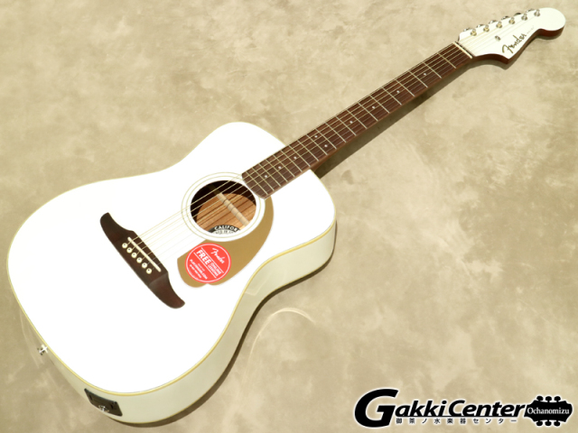 Fender Malibu Player, Arctic Gold 【シリアルNo:CSL17004090/2.0kg】【店頭在庫品】