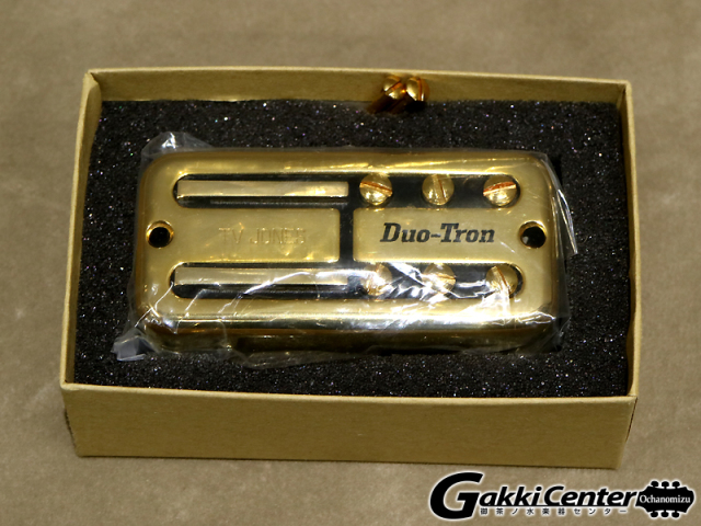TV Jones Paul Yandell Duo-Tron Bridge/Gold UV【店頭在庫品】