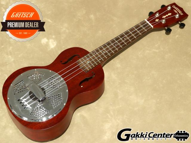 Gretsch G9112 Resonator-Ukulele  コンサート・サイズ【シリアルNo:CAU1801659/0.7kg】【店頭在庫品】