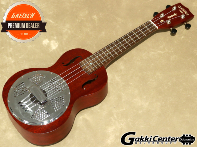 Gretsch G9112 Resonator-Ukulele  コンサート・サイズ【シリアルNo: CAU1805007/0.7kg】【店頭在庫品】