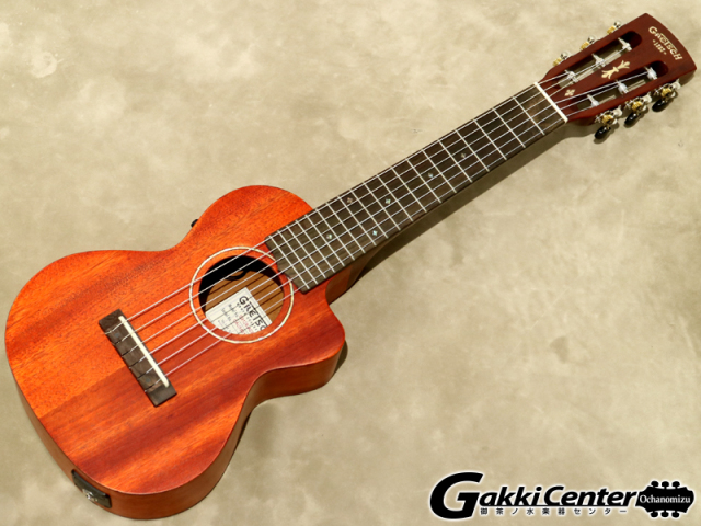 Gretsch G9126-ACE Guitar-Ukulele, Acoustic- Cutaway-Electric テナー・サイズ【シリアルNo:CAU1801746/0.9kg】【店頭在庫品】