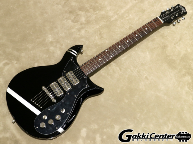 Gretsch  Electromatic G5135CVT-PS Patrick Stump Electromatic Stump-O-Matic CVT Black with Pewter Stripes【シリアルNo:CYG18040252/3.4kg】【店頭在庫品】