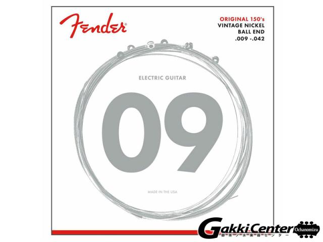 [Outlet] Fender Original Pure Nickel 150L Guitar Strings (.009-.042)