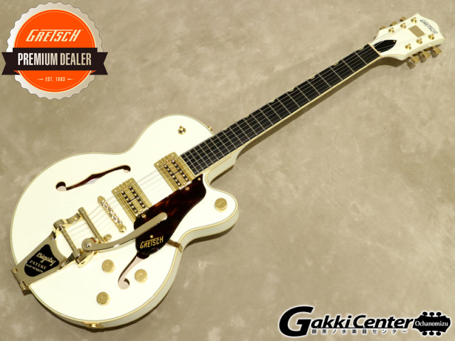 Gretsch G6659TG Players Edition Broadkaster Jr. Center Block Single-Cut Vintage White【シリアルNo:JT18114741/3.5kg】【店頭在庫品】
