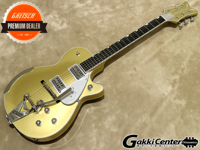 【限定モデル】Gretsch G6134T Limited Edition Penguin™ with Bigsby®, Casino Gold 【シリアルNo:JT18125140/4.1kg】【店頭在庫品】