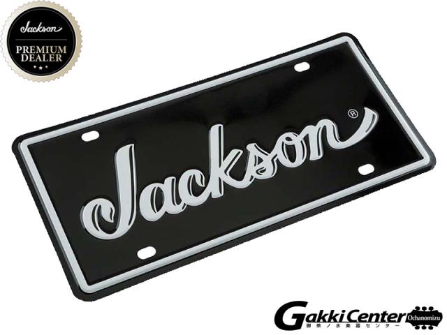 Jackson Logo License Plate