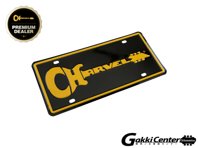Charvel Logo License Plate