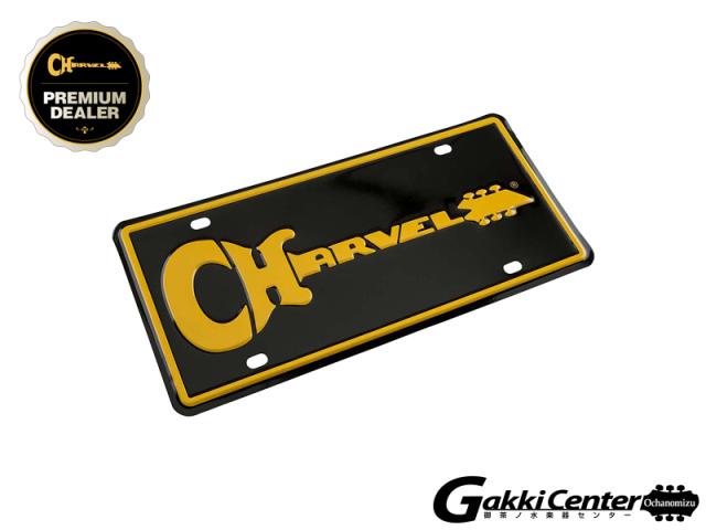 Charvel Logo License Plate