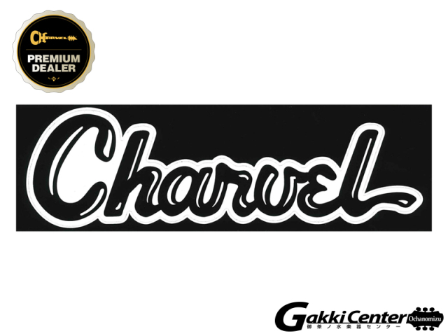 Charvel Vinyl Sticker Black