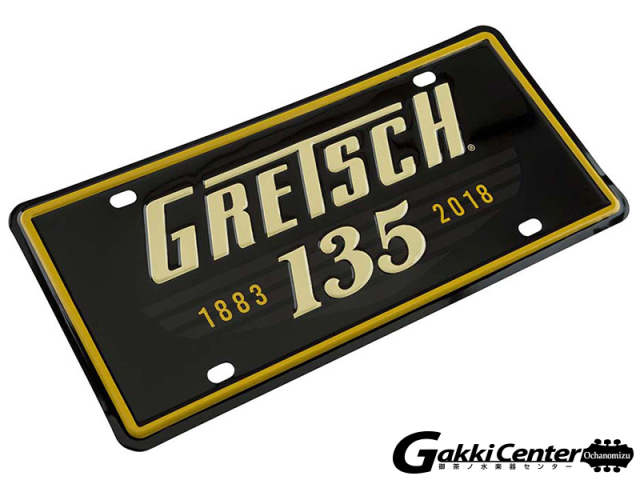 Gretsch135th Anniversary License Plate