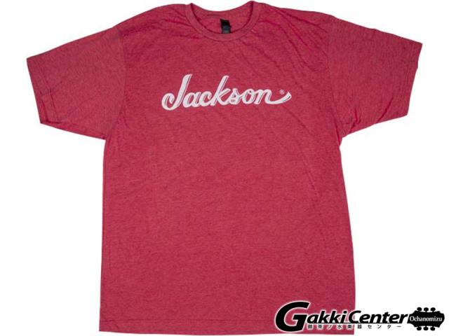 Jackson Logo T-Shirt, Heather Red (L)