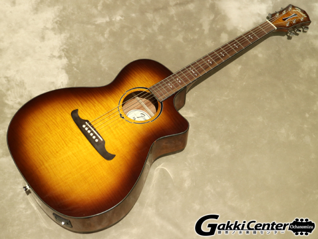 Fender FA-345CE Auditorium, 3Tone Tea Burst, Rosewood【シリアルNo:IWA1726266/2.1kg】【店頭在庫品】