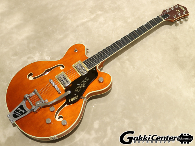 Gretsch G6620T Players Edition Nashville Center Block Double-Cut, Round-Up Orange【シリアルNo:JT19041775/3.7kg】【店頭在庫品】