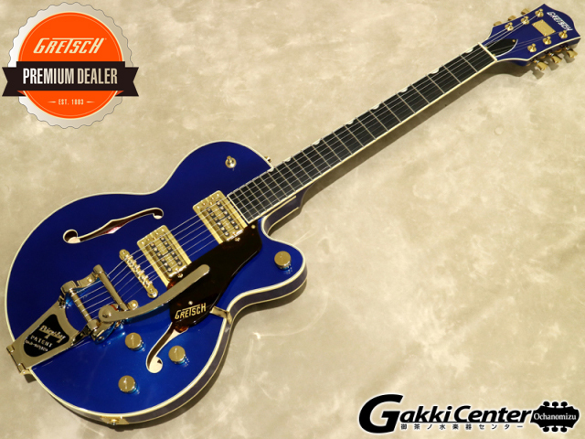 Gretsch G6659TG Players Edition Broadkaster Jr. Center Block Single-Cut Azure Metallic【シリアルNo:JT19020940/3.3kg】【店頭在庫品】
