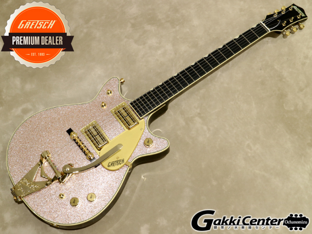 Gretsch  Professional Collection G6129T-68-LTD Champagne Sparkle Jet with Bigsby 【シリアルNo:JT19031315/3.8kg】【店頭在庫品】