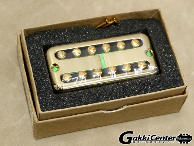 TV Jones Ray Butts Ful-Fidelity Filter'Tron - Blank Cover Neck / Gold【店頭在庫品】