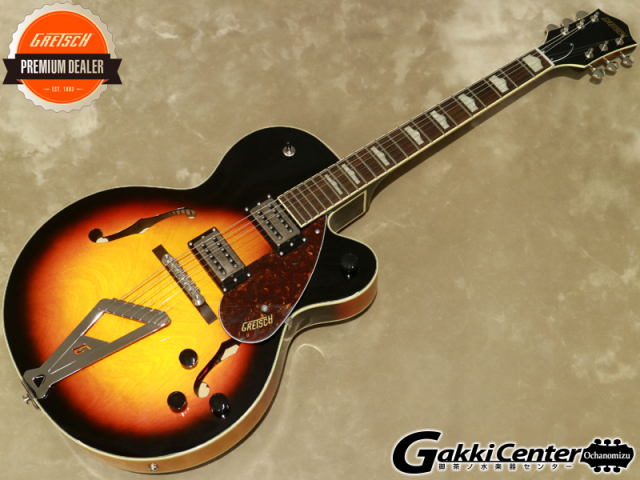 Gretsch  G2420 Streamliner Hollow Body with Chromatic II Tailpiece, Aged Brooklyn Burst 【シリアルNo:IS190200084/3.0kg】【店頭在庫品】