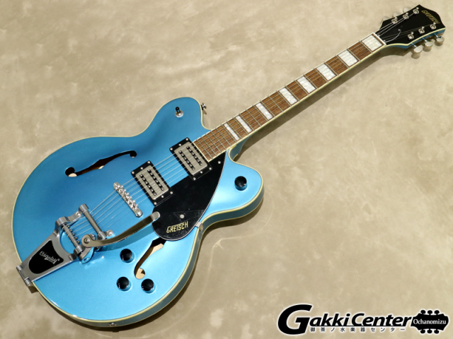 Gretsch G2622T Streamliner Center Block with Bigsby, Riviera Blue 【シリアルNo:IS190200116/3.3kg】【店頭在庫品】