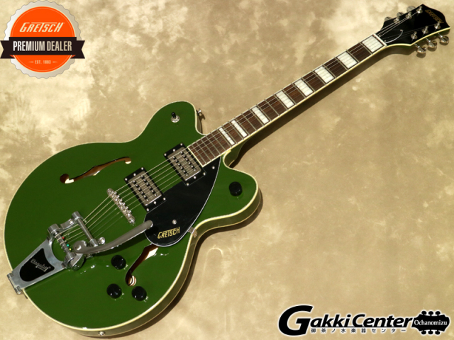 Gretsch G2622T Streamliner Center Block with Bigsby, Torino Green 【シリアルNo:IS190200157/3.3kg】【店頭在庫品】