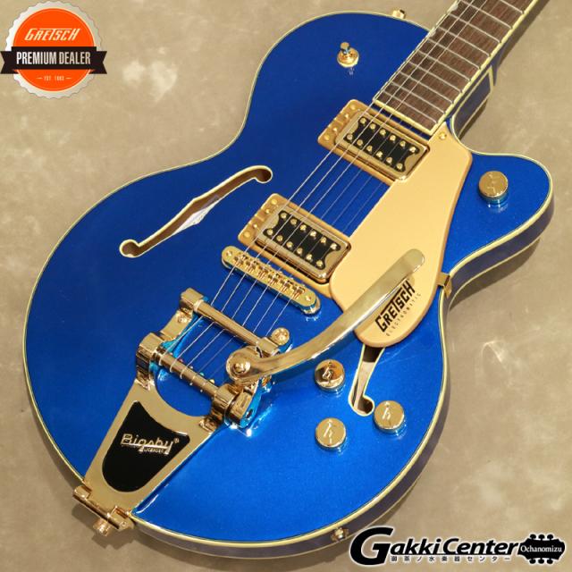 Gretsch G5655TG Electromatic Center Block Jr. Single-Cut with Bigsby Azure Metallic【シリアルNo:CYGC20030268/3.3kg】【店頭在庫品】