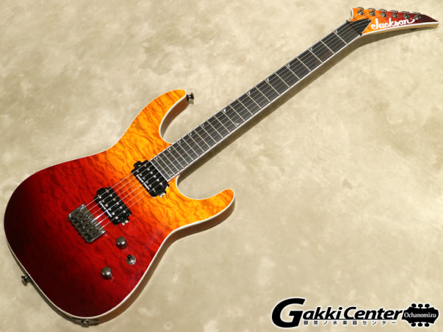Jackson Pro Series Soloist SL2Q HT MAH, Desert Sunset Sky 【シリアルNo:ISJ1900728/3.4kg】【店頭在庫品】